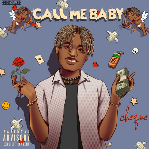 Cheque – Call Me Baby SONG ARTWORK